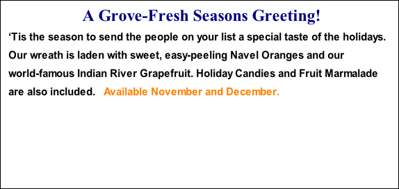 A Grove-Fresh Seasons Greeting!